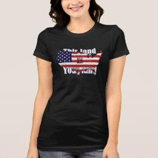 Camiseta T-shirt do gráfico do Dia da Independência