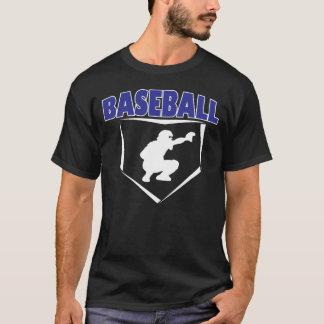 Camiseta T-shirt do gráfico dos coletores do basebol