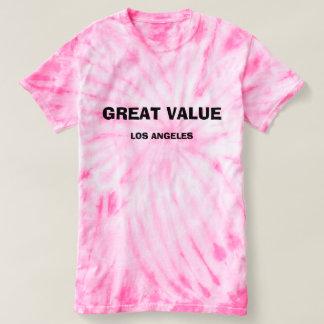 Camiseta T-shirt do grande valor