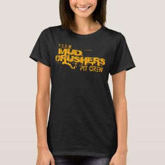 Camiseta T-shirt do grupo de poço dos trituradores da lama