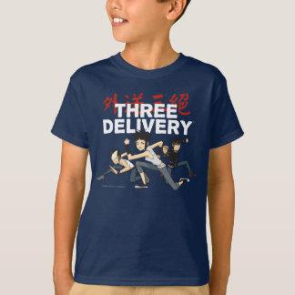 Camiseta T-shirt do grupo de três Delivery™