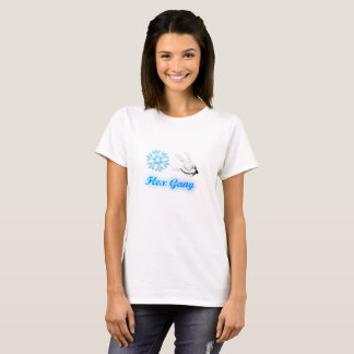 Camiseta T-shirt do grupo do cabo flexível