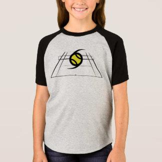 Camiseta T-shirt do grupo do estilo do basebol das meninas