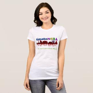 Camiseta T-shirt do GUATENOLA das mulheres