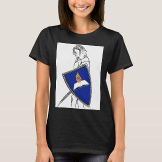 Camiseta T-shirt do guerreiro da ficção de fã