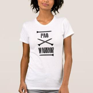 Camiseta T-shirt do guerreiro de PAO