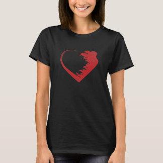Camiseta T-shirt do guerreiro do amor