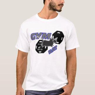 Camiseta T-shirt do halterofilismo do rato do Gym