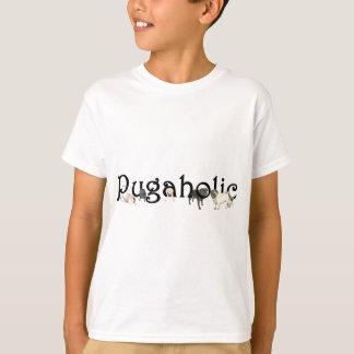 Camiseta T-shirt do Hanes Tagless do miúdo de Pugaholic