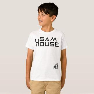 Camiseta T-shirt do Hanes TAGLESS® dos miúdos da casa de