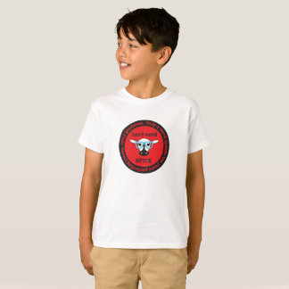 Camiseta t-shirt do Hanes TAGLESS® dos miúdos da ESPECIARIA