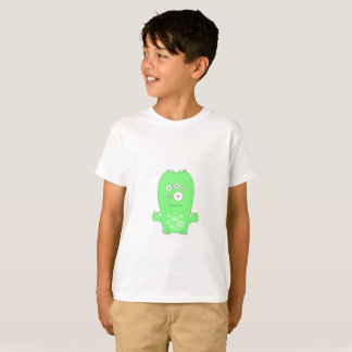 Camiseta T-shirt do Hanes TAGLESS® dos miúdos de Snoomies