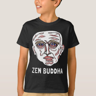 Camiseta T-shirt do Hanes TAGLESS® dos miúdos do silêncio