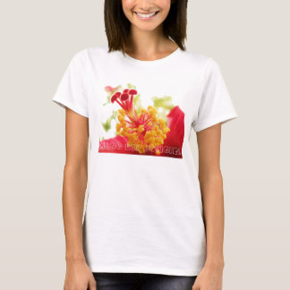 Camiseta T-shirt do hibiscus