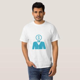 Camiseta T-shirt do homem de negócios
