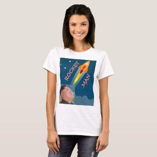 Camiseta T-shirt do homem de Rocket
