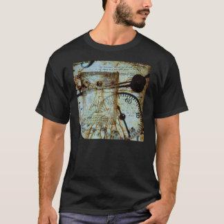 Camiseta T-shirt do homem de Vitruvian