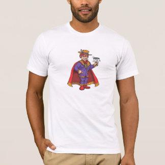 Camiseta T-shirt do homem do copo do proxeneta