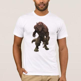 Camiseta T-shirt do homem-lobo