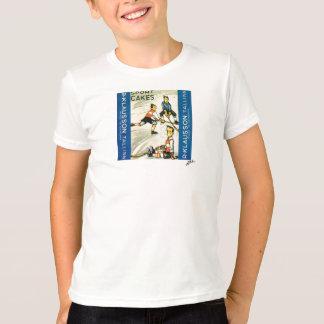 Camiseta T-shirt do hóquei dos meninos