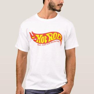 Camiseta T-shirt do hot rod