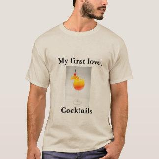 Camiseta T-shirt do humor do cocktail