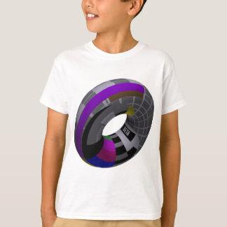 Camiseta T-shirt do humor do geek, tubo do cartão do beta
