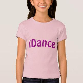 Camiseta T-shirt do iDance das meninas