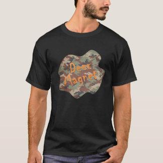 Camiseta T-shirt do ímã dos cervos