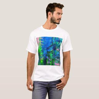 Camiseta T-shirt do impressão da arte abstracta dos homens