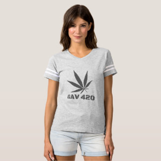 Camiseta T-shirt do impressão da folha de GAV pelo