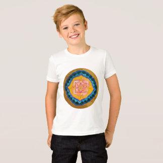 Camiseta T-shirt do jérsei da multa do roupa dos miúdos da