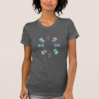 Camiseta T-shirt do jérsei das mulheres das medusa