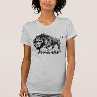 Camiseta T-shirt do jérsei das mulheres dos galões do