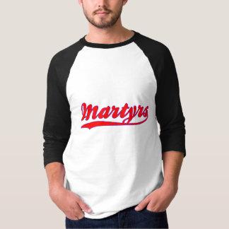 Camiseta T-shirt do jérsei de basebol do falso dos mártir