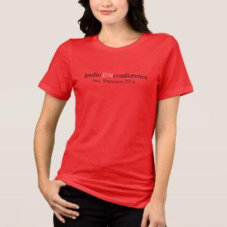 Camiseta T-shirt do jérsei do Bella das mulheres Indie de