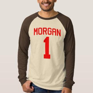 Camiseta T-shirt do jérsei do futebol de Morgan #1