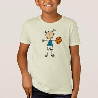 Camiseta T-shirt do jogador de basquetebol da menina