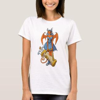 Camiseta T-shirt do jogador de golfe do súcubo