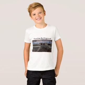 Camiseta T-shirt do Jogo-Impressão, meninos grandes