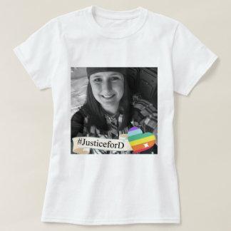 Camiseta T-shirt do #JusticeForD