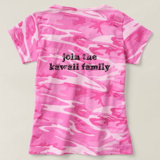 Camiseta t-shirt do kawaii