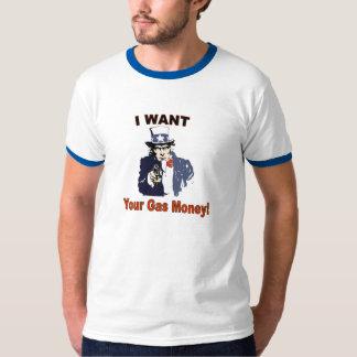 Camiseta T-shirt do ladrão do gás - personalizado