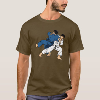 Camiseta t-shirt do lance de judo