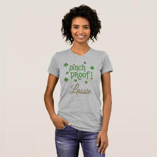 Camiseta T-shirt do Lassie da prova da pitada
