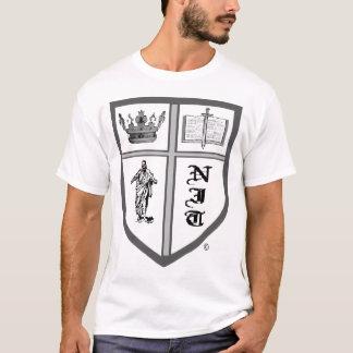 Camiseta t-shirt do lêndea-sheild-logotipo
