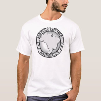 Camiseta T-shirt do leste da missão de Sao Paulo Brasil LDS