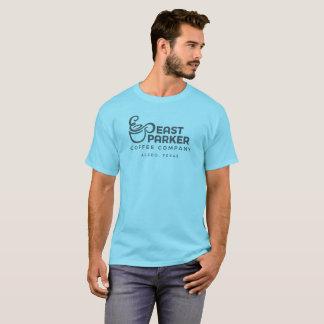 Camiseta T-shirt do leste de Parker com logotipo do carvão