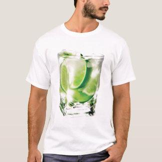 Camiseta T-shirt do limão da vodca