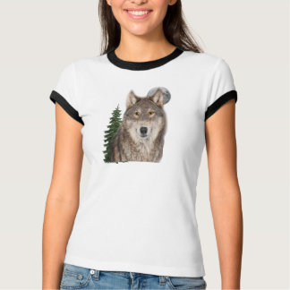 Camiseta t-shirt do lobo